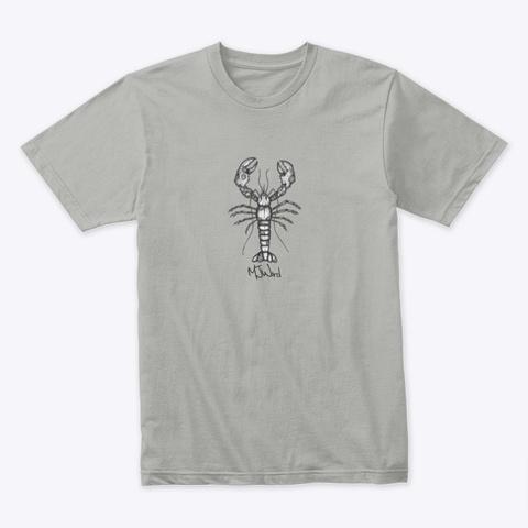 Lobster T Shirt Design Light Grey T-Shirt Front