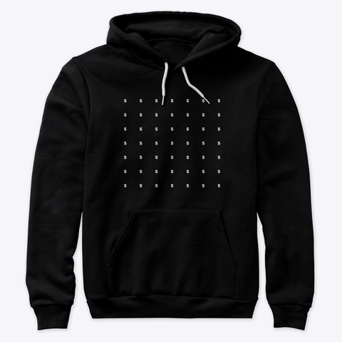 Hoodie: Sssssss Black T-Shirt Front