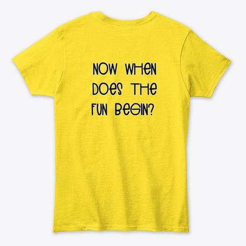 Hello Morning Apparel!!! Daisy T-Shirt Back