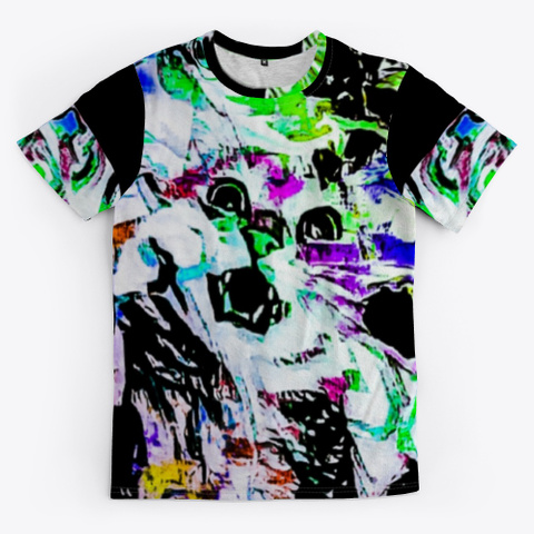 Bc Cat 7460 Black T-Shirt Front