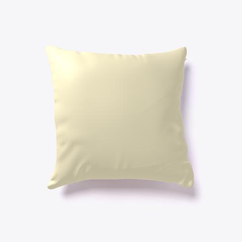 Tiger Novelty Pillow Light Yellow T-Shirt Back