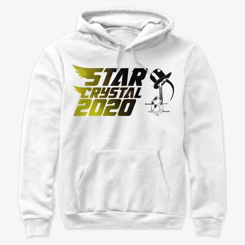 Star Crystal 2020 White T-Shirt Front