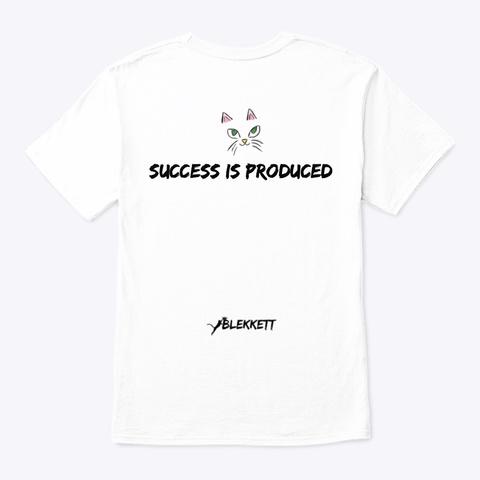 Blekkett Dreamz White T-Shirt Back