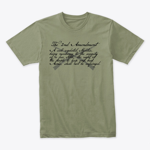 2 A Shirt Light Olive T-Shirt Front