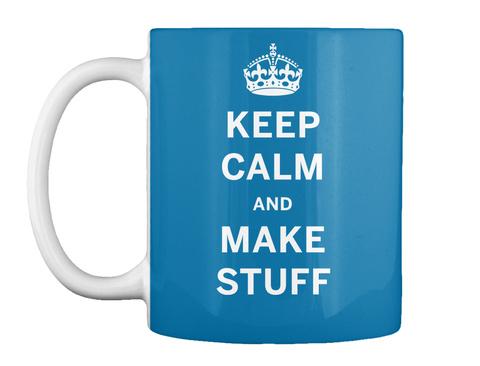 Som Kc Make Stuff Mug Royal Blue Mug Front