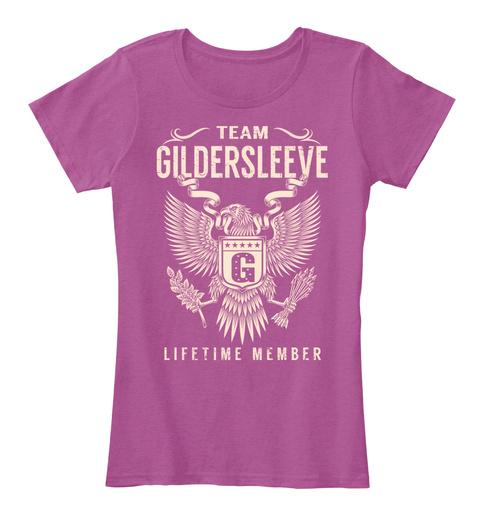 Team GILDERSLEEVE Lifetime Member Hoodie Tshirt