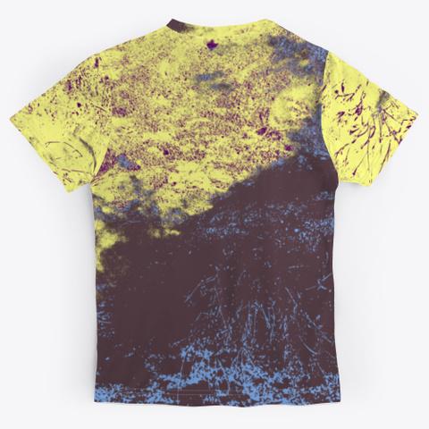 Blah Blah Blah   Batik Tie Dye Camouflage Standard T-Shirt Back