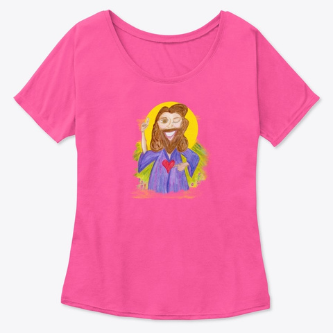 Jesus Energy Berry  T-Shirt Front
