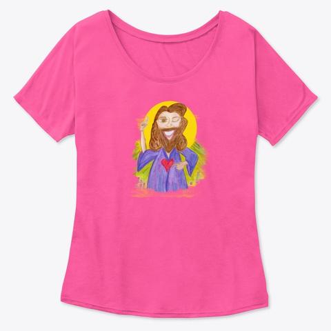 Jesus Energy Berry  T-Shirt Front