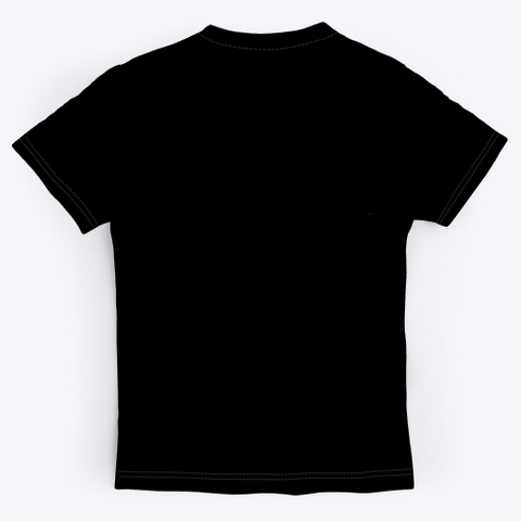 T Shirt: Secret Pattern Black T-Shirt Back