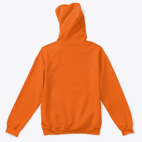 Climate Solutions Orange T-Shirt Back