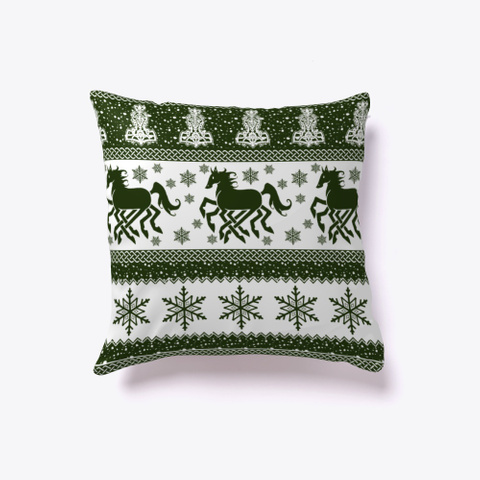 F So A Sleipnir Yule Pillow Standard T-Shirt Back