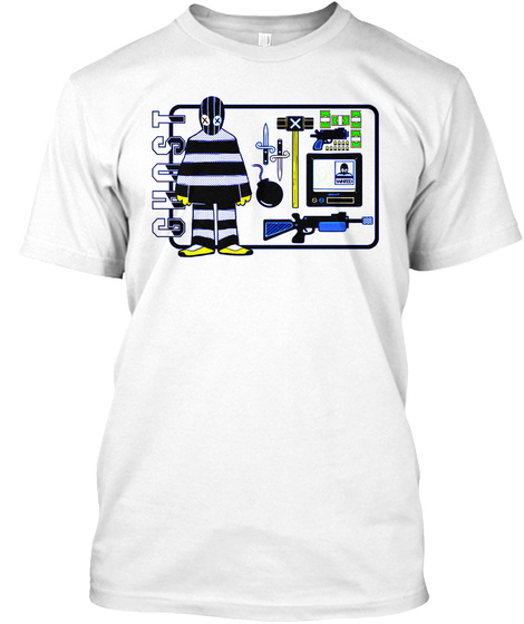 Ghost White T-Shirt Front