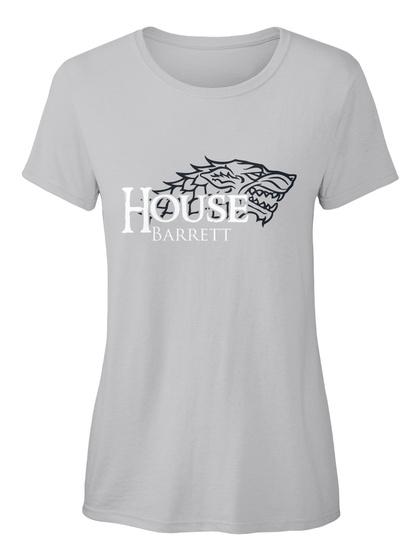 Barrett Family House   Wolf Sport Grey T-Shirt Front