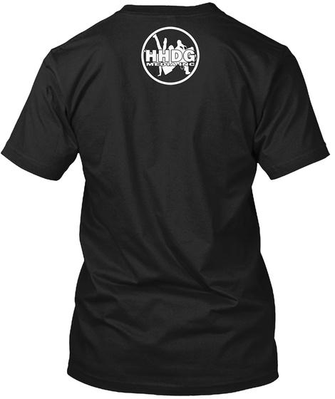 Hhdg Media Tee Shirt  Black T-Shirt Back