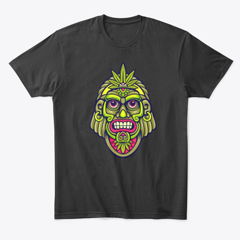 Psytrance Wear Black T-Shirt Front