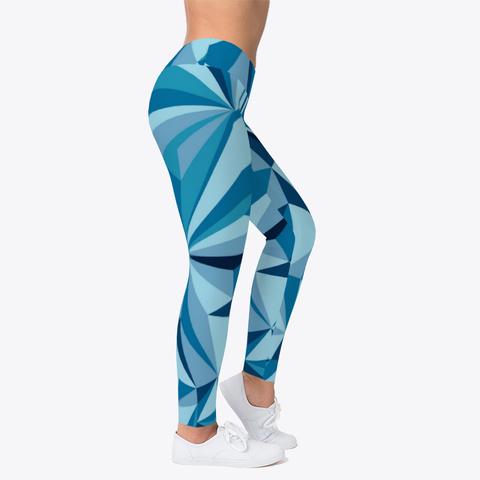 Blue Ice Leggings Standard T-Shirt Right
