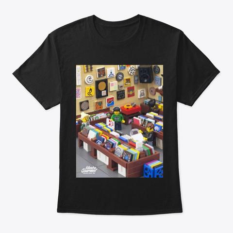 Lego Dj Black T-Shirt Front