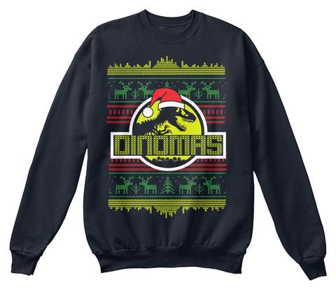 Oinomas French Navy Sweatshirt Front