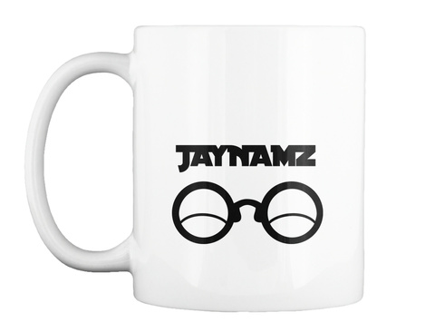 Jaynamz White T-Shirt Front