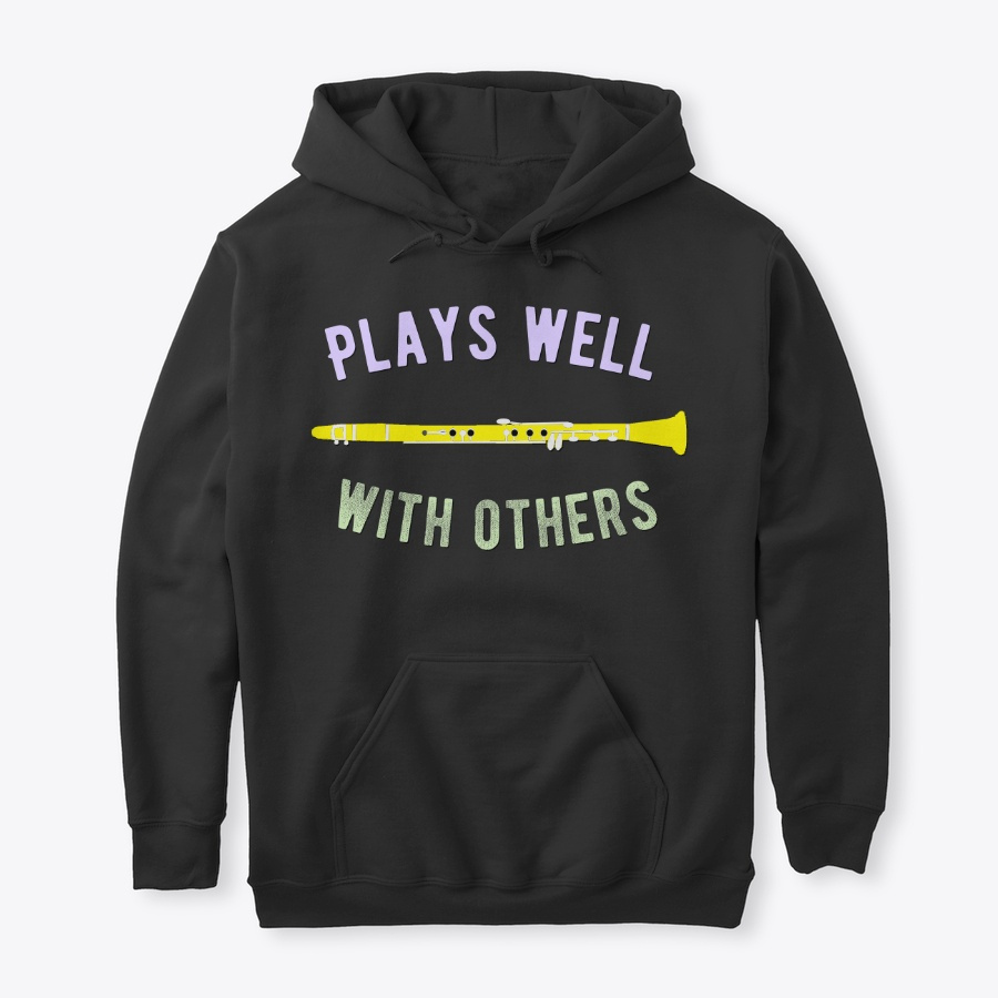 [$15+] Plays Well With Others - Clarinet LongSleeve Tee