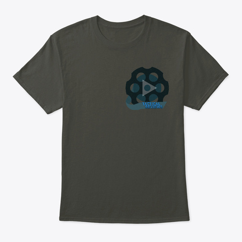 Tactical Reviews.Com  Smoke Gray T-Shirt Front