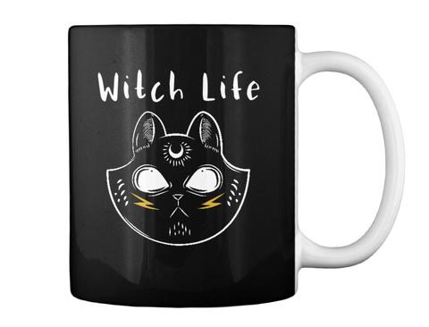 Witch Life Black T-Shirt Back