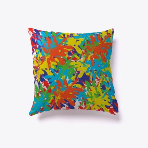 J Ideas* Colorful Pillow Standard T-Shirt Front