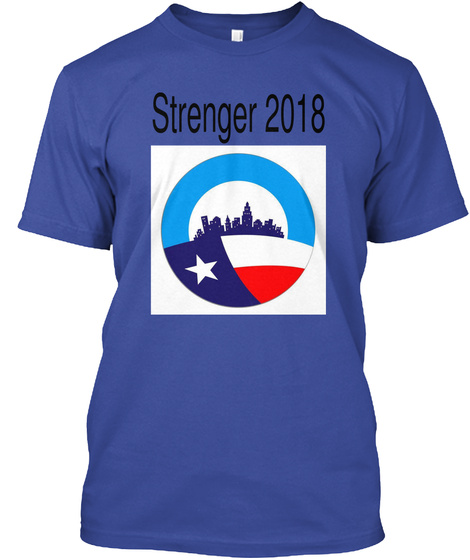 Strenger 2018 Deep Royal T-Shirt Front
