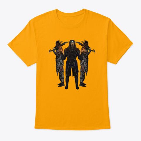 Grohlvana Adrenoch Shirts & More! Gold T-Shirt Front