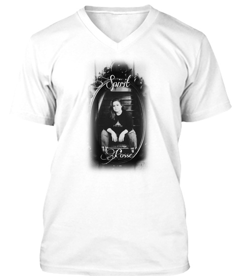 Spirit Posse Paranormal  White T-Shirt Front