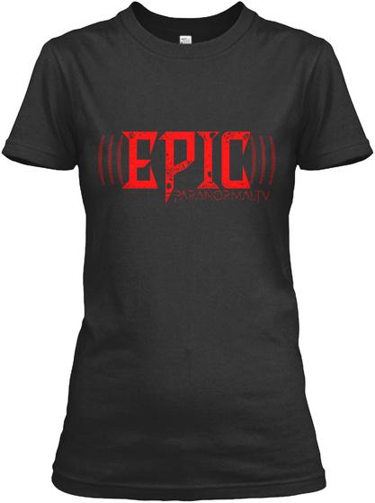 Epic Black T-Shirt Front