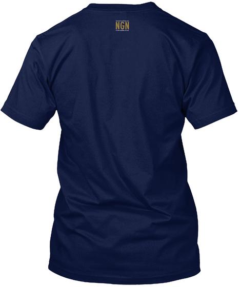 Ngn Navy T-Shirt Back