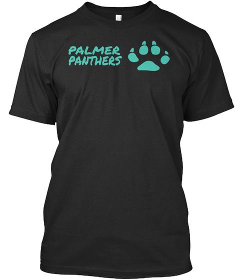 Palmer Panthers Black T-Shirt Front