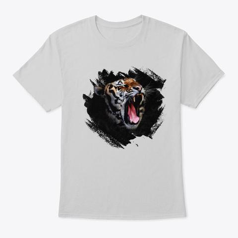 Tiger Roar Light Steel T-Shirt Front