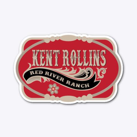 Kent Rollins Buckle Design Standard T-Shirt Front