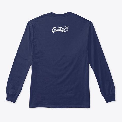 "Gabby B ""Tweet"" Quote  Navy T-Shirt Back"