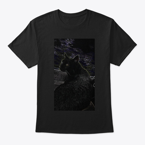 The Beast That Lives In The Den Black T-Shirt Front
