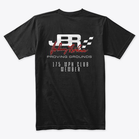 Jbpg 175 Mph Club Shirt Black T-Shirt Back