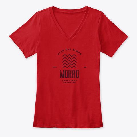 Morro   Alto Das Almas Red T-Shirt Front