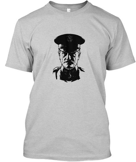 General John Pershing  Light Steel T-Shirt Front