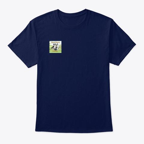 Blue Merle Minion Logo Navy T-Shirt Front