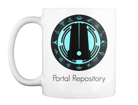 Portal Repository White Mug Front