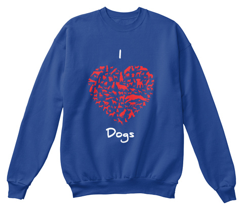 I Heart Dogs Sweater Uk Love