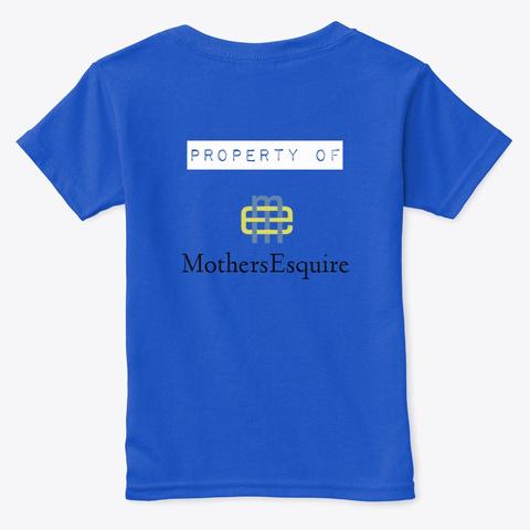 Final Order Royal  T-Shirt Back