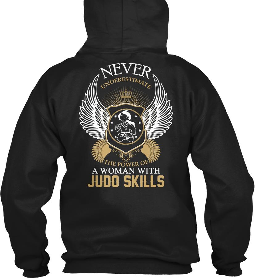 [2 Hours Left] - JUDO Woman Hoodie Unisex Tshirt