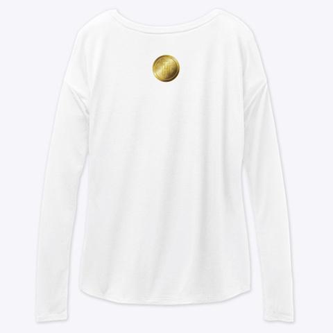 Hot Trillion Coin White T-Shirt Back