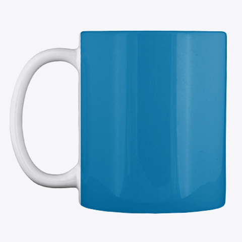Happy Place Colored Mugs Royal Blue T-Shirt Front
