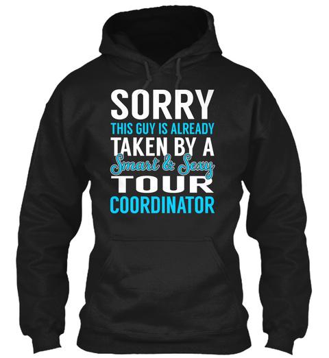 Tour Coordinator Black T-Shirt Front