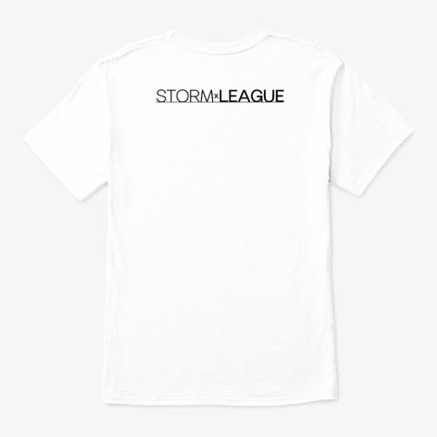 Storm X League White T-Shirt Back